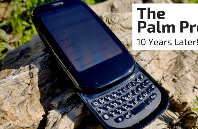 Video unboxing of Palm Pixi